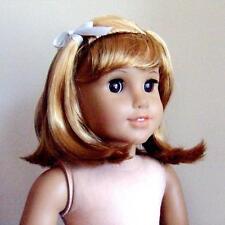 """American Girl Nellie Doll Wig head size 10-11"""" Golden w/ Bangs BIN"""