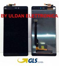TOUCH SCREEN VETRO + LCD DISPLAY Assemblati Per XIAOMI MI4C NERO