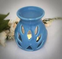 "2.5"" Diam.  Ceramic Wax Melt Warmer Oil Burner Fragrance Tealight Candle Holder"