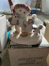 Dreamsicles Snowbound Cast Art Industries Cherub Angel Penguins Figurine