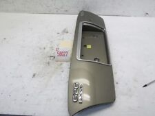 98 MAZDA 626 LX REAR TAIL GATE TRUNK LID FINISH PANEL LICENSE PLATE COVER OEM