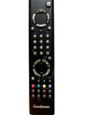 GOODMANS LCD TV REMOTE CONTROL RC1546 for LCD26TV022HD black