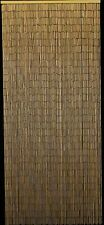 Natural Plain Bamboo Beaded Curtain - New - Free Shipping 48 State