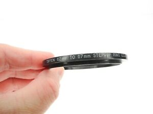 #2 Tiffen 62mm To 67mm Camera Lens Step Up Ring Made In The U.S.A.