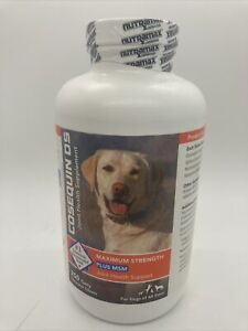 Cosequin Maximum Strength Plus MSM for Dogs All Sizes (250 Count) NEW 05/2023