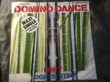 """LOCIC SYSTEM - Domino Dance / Unit - 80s MAXI 12"""" hear ♫ MINIMAL SYNTH WAVE, NM-"""