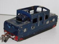 à RESTAURER vintage LOCOMOTIVE PO ancien circuit de train JOUETS FRANCE tin TOYS