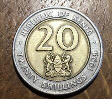 PIECE DE 20 SHILLINGS DU KENYA 1998 (77)