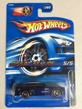 Hotwheels 2005 Nissan Skyline Dropstar rare vhtf