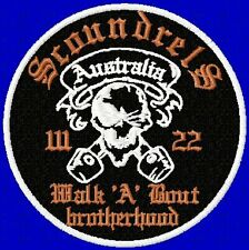 CUSTOM/MADE TO ORDER SPECIAL BIKER EVENT RALLY PATCHES- 200 - BULK DEAL