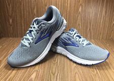 Brooks Men's Adrenaline GTS 19 Running Shoe, Grey/Blue 11.5 Médium (D)