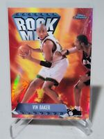 1999-2000 VIN BAKER TOPPS CHROME SEASONS BEST ROCK MEN REFRACTOR #SB20 RARE