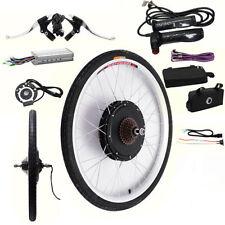 "1000W Electric Bicycle Motor Conversion Kit E Bike 26"" Speed Rear Wheel Brake"
