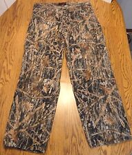 True Timber Hunting Pants Conceal Camouflage Cargo Mens Sz.Medium FREE Ship