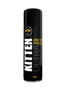 TYRE CLEANER Kitten Ultra ONE STEP TYRE CARE 400g Protects & Shines Car Tyres