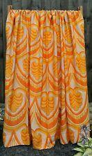 VINTAGE con metà del secolo Paio di Tende anni'50 anni'60 anni'70 tessuto Crafts
