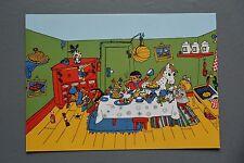 R&L Postcard: Children's, Party Time Kids Food Horse