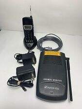 Inter-Tel Model INT4000 Cordless Digital Telephone Complete Base Set 900MHz