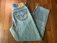 Vintage Levis 560 Red Tab Comfort Fit Distressed Jeans - 33x32 (33x31)