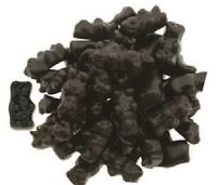 Gustaf's Sugar Free Black Licorice Bears, 2.2 lb. Bag Shipping Included