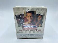 Pro Line Portraits 1992 NFL Football Cards Sealed Box 36 packs 1 Auto per Box