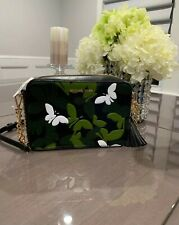 Authentic MICHAEL KORS MEDIUM  BUTTERFLY CAMO LEATHER CAMERA BAG