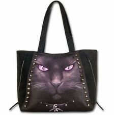 Faux Leather Tote Cat Handbags