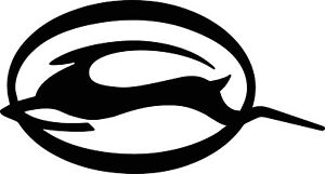 "Impala Logo Garage Wall Decal 20"" x 36"" Black Orange White Silver Red"