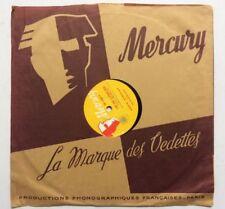 ►VINYLE 78 T. - MERCURY  - 4281 - EDDIE  BARCLAY - EDDIE CONSTANTINE