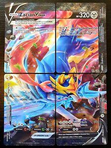 Zacian V-Union 4 Card Set - English - Pokemon - Black Star Promo