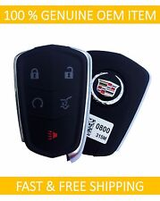 Cadillac SRX Smart Keyless Remote Key Entry Fob Transmitter GM#13580800 OEM