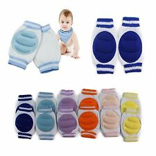 BABY KNEE PADS Infant Toddler Crawling Pad Safety Pink Blue Yellow Orange Purple