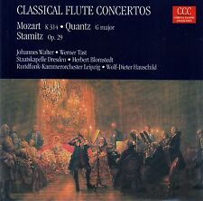 Classical Flute Concertos: Mozart-Quantz-Stamitz/CD