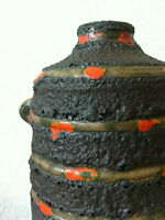 Ruscha Pompeji Vase fat Lava 60s 70s pottery ceramics wgp Fat Lava 70er roth