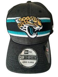 Jacksonville Jaguars New Era 39 Thirty NFL Hat Large/X Large Flex Fit
