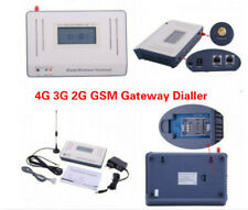 GSM Fixed Wireless Terminal Phone Line Dialler Alarm System Support 4G 3G 2G SIM