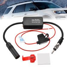 Auto Car FM & AM Radio Signal Antenna Aerial Signal Amp Amplifier Booster