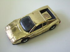 Matchbox RARE preproduction MB75 Ferrari Testarossa, never released brass plated