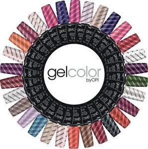 Gel Color Polish GelColor NEW 2017 Colours, Harmony Top it off foundation