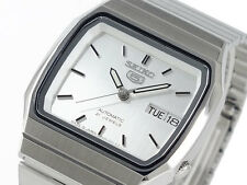 Seiko 5 Automatic Mens Dress Watch Square Japan Made SNXK95J1 UK Seller