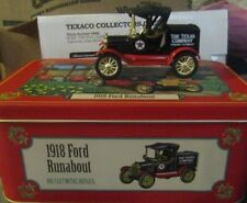 NEW! 1918 Ford Roundabout Texaco Ertl Collectors Club Metal Replica Toy Tin Case