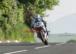 Josh Brookes  2018 Isle of Man TT Superbike   A4 Photo