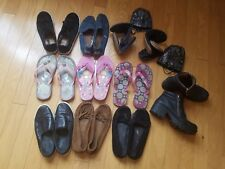 GUC Lot of 11 pairs of sandals, shoes boots Toms, Zara, UGG, GAPS, etc size 39