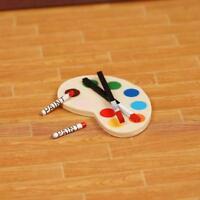 1:12 Doll House Mini Palette and 2 Brush Props Kits Kids Supplies AU