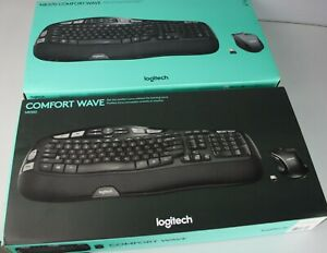 Lot of 2 Logitech MK570  & MK550 Wired Keyboards and Mouse Combo NO RECEIVERS