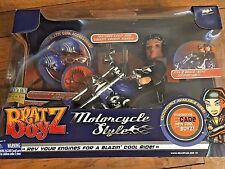 Bratz Boyz Motorcycle Style with sounds & Cade Doll New