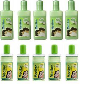 Mediker Anti Lice Treatment Shampoo & Oil  50ML Pack of 10 (5 Bottle each)