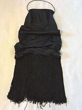 black dress swinging 60s fashion, size 12/M