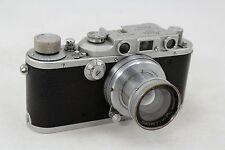 Leitz Leica III a DRP, vintage 35mm camera, lens Summar f=5cm 1:2, pre war 1938
