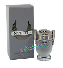 Invictus Mini By Paco Rabanne 0.17 oz. Edt Splash Mini For Men New In Box